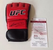 AMANDA NUNES SIGNED RED UFC BOXING GLOVE JSA COA!!!