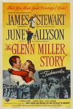 THE GLENN MILLER STORY Movie POSTER 27x40 C James Stewart June Allyson Harry