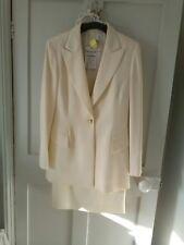 Stunning Escada Ivory Jacket & Skirt Suit EU 38 UK 12 cost £600 +