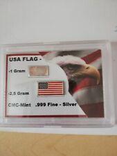 2 Silber Barren 1g und 2,5g von CMC Mint 999 Fine Silver