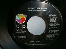 BOBBY RYDELL It's getting better / the singles scene PIP 6531