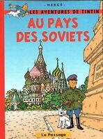 PASTICHE - Tintin au pays des Soviets. Cartonné couleurs, couverture EDWOOD 2017