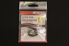 Owner 5172 Wacky Hooks - Weedless - Size 1/0 5172-116 Drop Shot Hooks