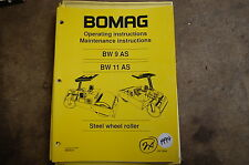 heavy equipment manuals for bomag compactor ebay rh ebay com BOMAG Wirtgen BOMAG Recycler