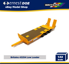 Britains Kane Low Loader Trailer - 1:32 Scale - 43254 - Yellow Low Loader