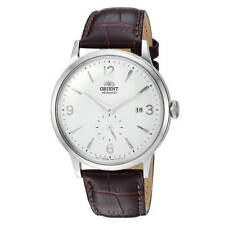 Orient AP0002S10A Men's Bambino Small Seconds Brown Strap Watch