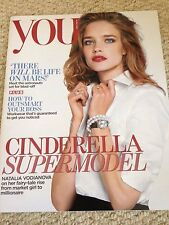 NATALIA VODIANOVA PHOTO COVER INTERVIEW UK YOU MAGAZINE MAY 2015 WILL YOUNG