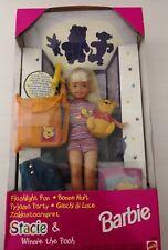 Barbie Stacie & Winnie Pooh NEU! NRFB Mint in a box Sammler rar