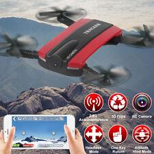 JXD 523 FPV Quadrocopter Altitude Hold ELFIE 4CH WIFI RC Drohn mit HD-Kamera Neu