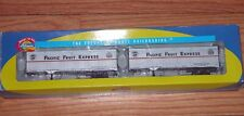 ATHEARN 70488 40' TRAILERS PACIFIC FRUIT EXPRESS PFE 120169, 120136