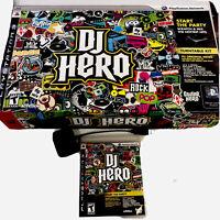 Playstation 3 Guitar Hero DJ Hero Turntable Kit With Adapter