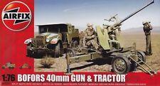 Airfix Bofors 40mm Gun & Tractor 1:76 Art. A02314 Geschütz und Fahrzeug