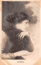 Automne Autumn Season, Dreamy glamour lady woman vintage fancy