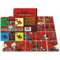 "Divination cards ""The Medieval Patience"" / Пасьянс для гадания ""Средневековый"""