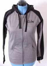J. America US Army Fleece Lined Heathered Gray Full Zip Jacket Women's M
