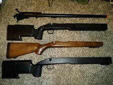 ASR AIRSOFT BOLT ACTION SPRING SNIPER RIFLE 6mm Plastic BB Gun Parts + 2 stocks