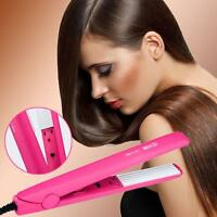 Pro Hair Crimper Crimping Wave Iron Ceramic Plate Waver Hair Styling DIY Curler!