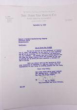 1932 Lamson Goodnow John Van Range Co Cincinnati Trust Co Ephemera P110D
