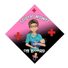Student Midwife Window Sign PGS450WS - FREE UK POSTAGE