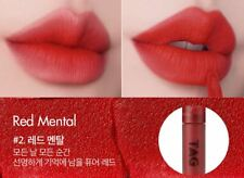 [TOO COOL FOR SCHOOL] Lazy Red Matte Lip#SYNTH RED 3.7g + Clear Fix Mascara 7g