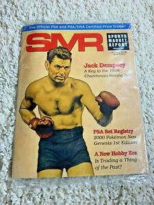 Sports Market Report Jan 2018 Official PSA/DNA Price Guide #282 Jack Dempsey