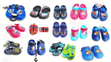 Kids Character Frozen Spiderman Beach Clogs Mules Crocs Flip Flops
