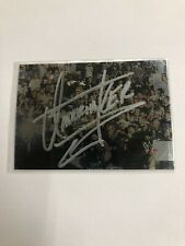 WWF NO Mercy Collector Cards 8 Undertaker Autographed 2000
