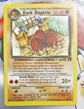Pokemon Cards - Dark Dugtrio #23/82 ROCKET set [NM+] (2000)