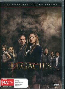 Legacies The Complete Second Season 2 Two DVD NEW Region 4