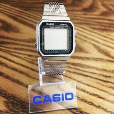 RARE Vintage 1983 Casio TC-600 Touchscreen Calculator Watch Japan Made Mod. 119