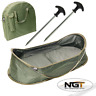 NGT CARP FISHING POP UP CRADLE UNHOOKING MAT FOR ULTIMATE PROTECTION WITH BAG
