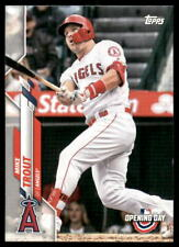2020 Topps MLB Opening Day Mike Trout #90 Card B