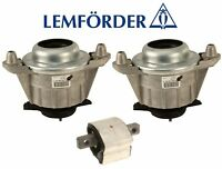 NEW Mercedes W204 W212 C300 C350 E350 Trans Mount & Left and Right Engine Mounts