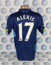 ARSENAL 2014 2015 #17 ALEXIS THIRD FOOTBALL SOCCER SHIRT JERSEY TRIKOT PUMA M