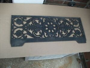 """FANCY Air Grate Wall 26"""" x 10"""" approx. OA  Unique pattern-Decoration      540"""