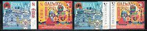 2020 Ireland Croatia Galway Rijeka European Culture joint issue both sets MNH