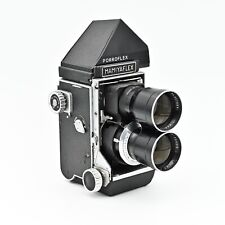 MamiyaFlex C2 with180mm f/4.5 Sekor Lens. Porroflex Viewfinder **EXCELLENT ++**