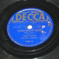 Count Basie Orchestra: One O'Clock Jump / John's Idea (Decca ‎1363) LP Jazz