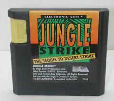 Sega Genesis Jungle Strike Game Cartridge, Works R13622