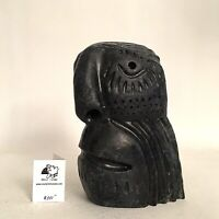 Inuit Art Eskimo Carving Leo Uttaq Face  65591  1999