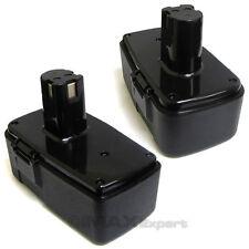 2 x 18V Battery for CRAFTSMAN 11098 223310 982321-001 2AH