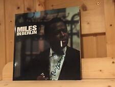 Signed by RON CARTER Miles Davis In Berlin CBS SPEAKERS CORNER 180g LP Signiert