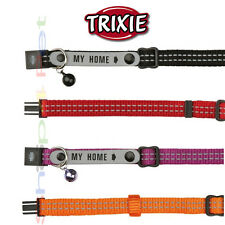 TRIXIE Cat Collar REFLECTIVE STICHING - Facility to Write Contact Details Inside