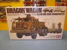 """TAMIYA DRAGON WAGON U.S. 40 TON TANK TRANSPORTER    """"NIB"""""""