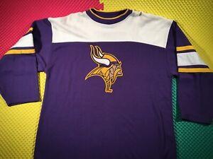 Vintage Minnesota Vikings Starter Pullover Sweatshirt Men's Size XL Free Ship