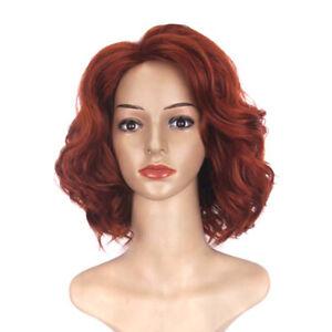 Infinity war cosplay wig black widow wig natasha romanoff