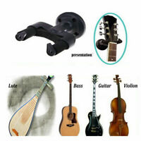 Black Guitar Wall Mount Hanger Holder Bracket Stand For Acoustic Guitar Bass _AU