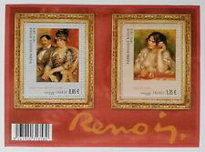 Bloc feuillet n° 4406 Renoir - 2009