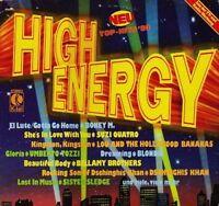 High Energy-Top-Hits '80 (1979, K-tel) Boney M., Suzi Quatro, Dschinghis .. [LP]
