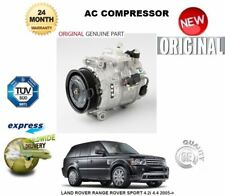 FOR LAND ROVER RANGE ROVER SPORT 4.2i  4.4 2005-> AC AIR CONDITIONING COMPRESSOR
